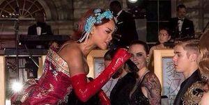 Rihanna Met Ball Justin Bieber
