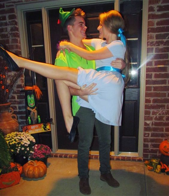 20. Peter Pan and Wendy from Peter Pan
