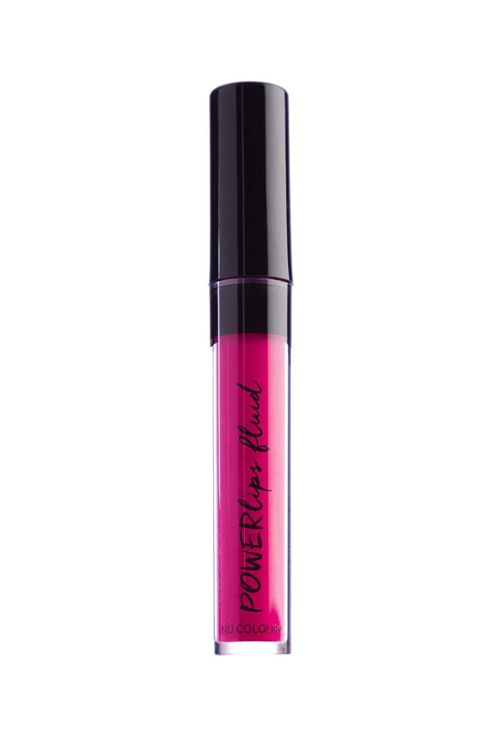 Bright Pink Nu Skin Powerlips Fluid in Bravery, $25 SHOP IT Shocking pink lips are a telltale sign that heavily pigmented lipsticks are on their way in this spring—plan accordingly. This comfortable formula rests on your lips like a cushion, and stays put for hours—no bleeding or feathering is involved.