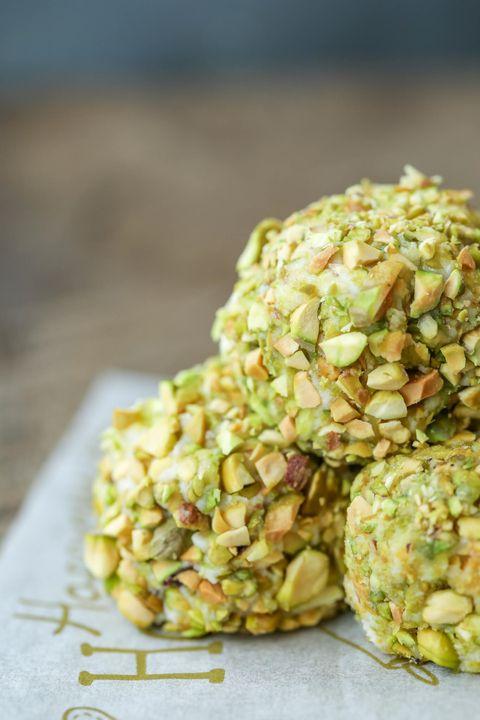 keto pistachio truffles