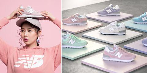Footwear, Pink, Shoe, Sneakers, Athletic shoe,