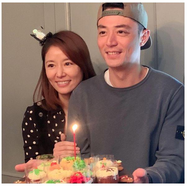 霍建華40歲生日快樂!林心如po 合照放閃甜喊:「我親愛的」