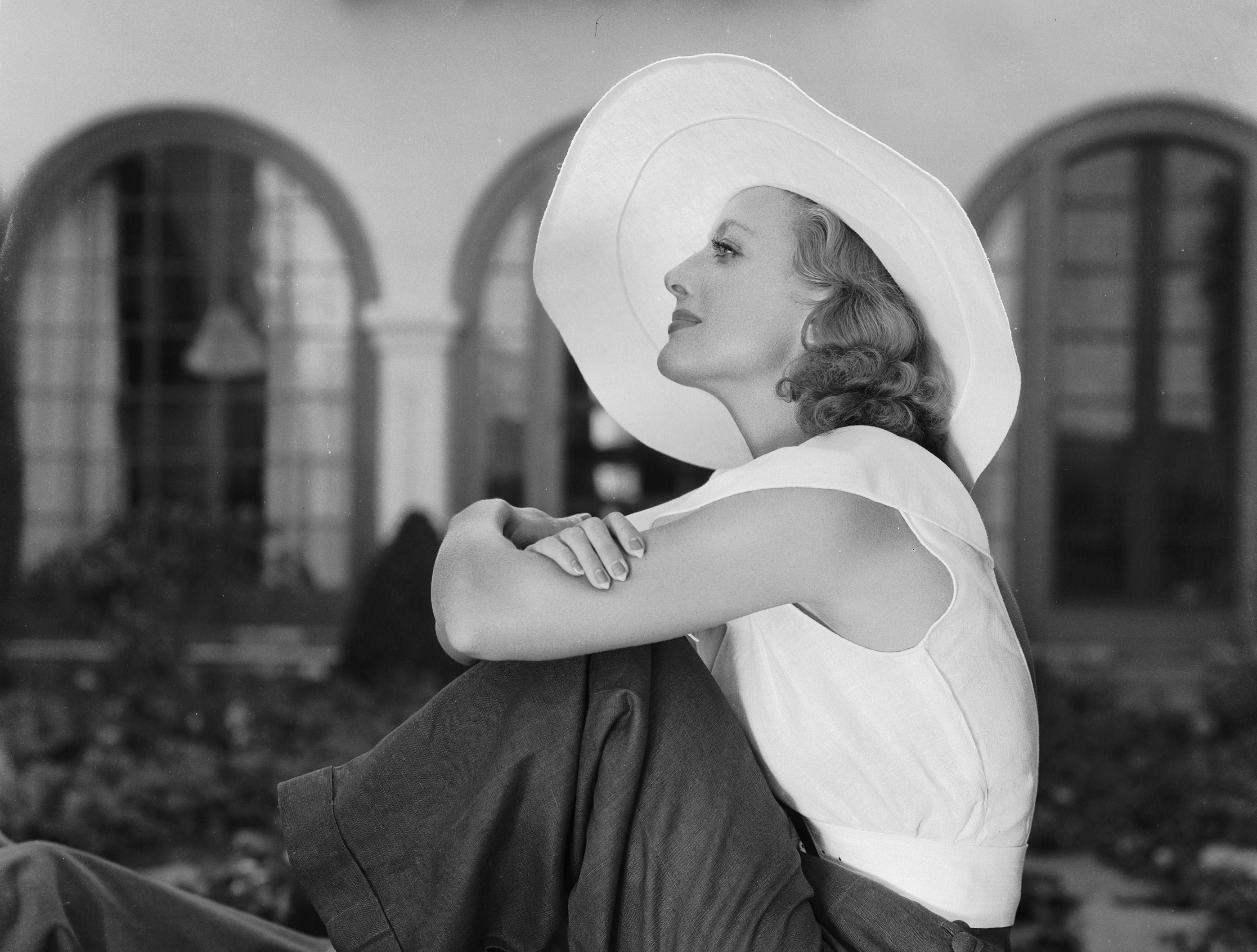 Joan In A Hat