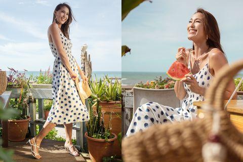 hm 2020 夏日系列 印花洋裝