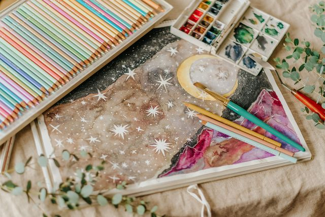 絵を描く瞑想
