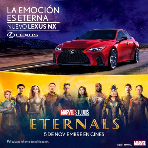 lexus 'eternals'