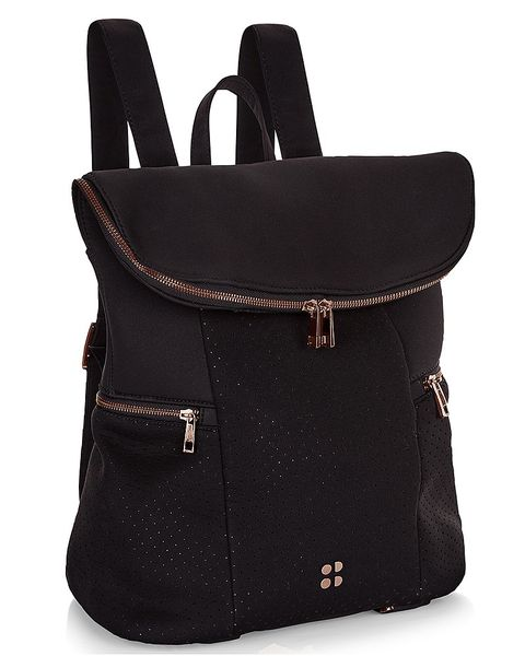 Bag, Handbag, Black, Product, Backpack, Leather, Fashion accessory, Luggage and bags, Material property, Font,