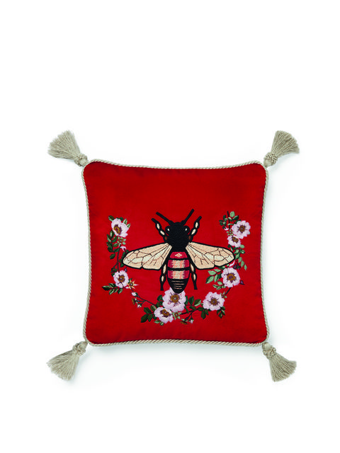 Red, Reindeer, Product, Deer, Cushion, Textile, Pillow, Font, Furniture, Fictional character,