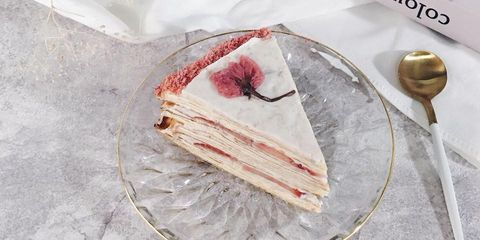 Food, Semifreddo, Cuisine, Dish, Dessert, Ingredient, Frozen dessert, Torte, Baked goods, Cheesecake,