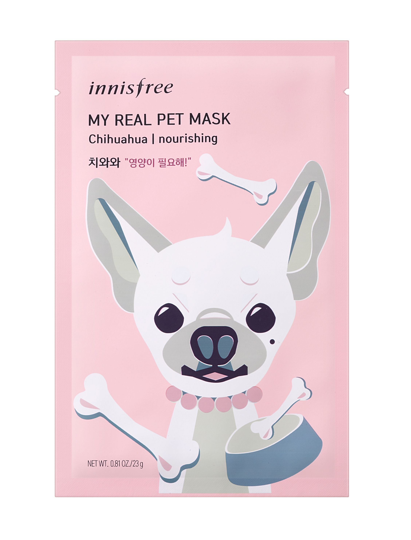 innisfree,狗狗,面膜,保濕,保養,哈士奇,米格魯.臘腸,汪汪面膜,狗奴
