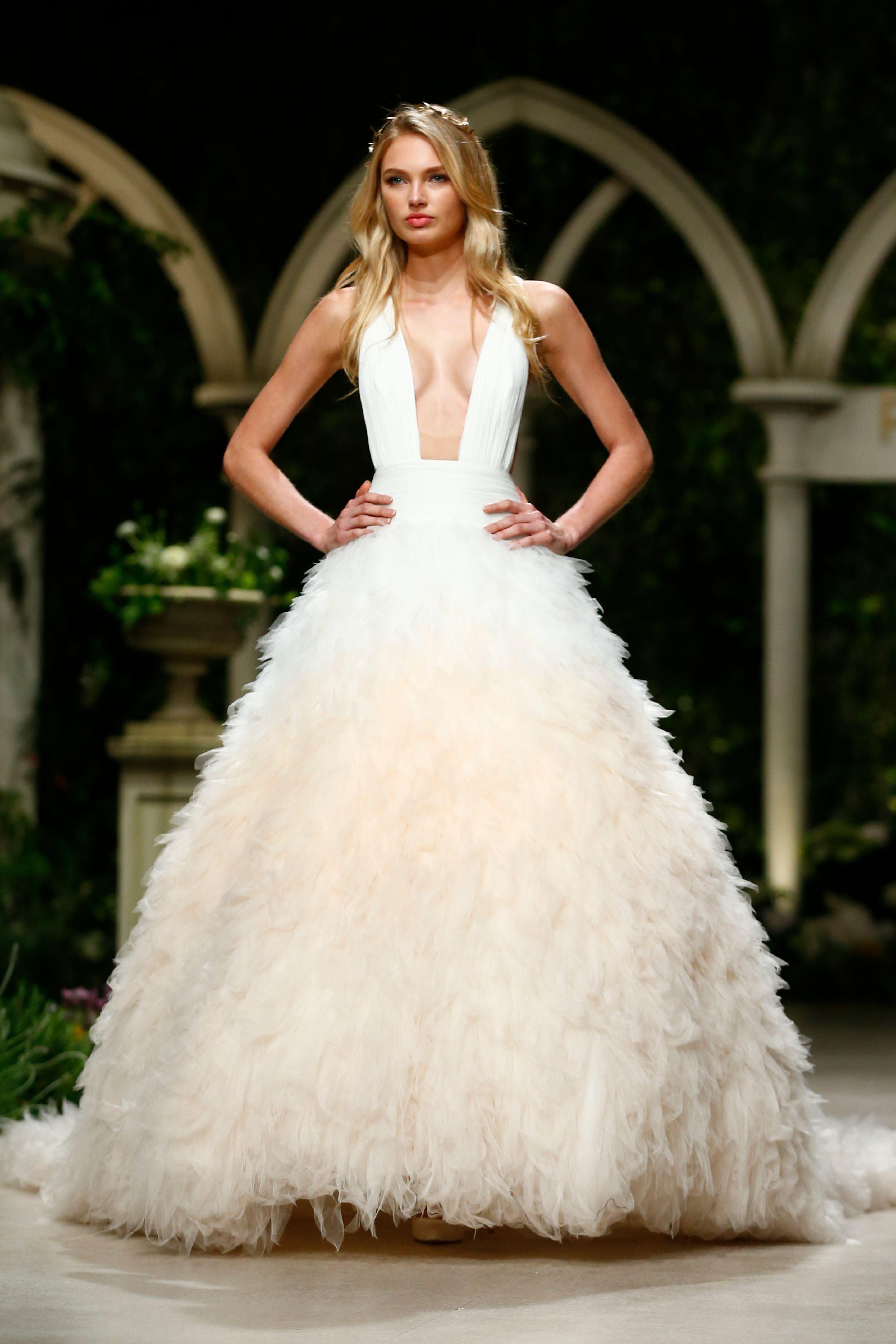 Vestido de novia de blanca romero