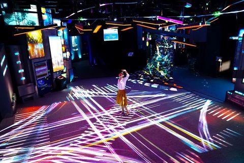 光雕,東京,夢幻,櫻花,博物館,都市,可愛,美照,光影東京,澀谷區,原宿區,台場區,互動裝置,視覺特展,5D體驗,華山,台北,展覽,打卡,暑假,夏天,2018,NAKED