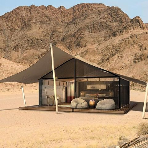 Tent, Shade, Landscape, Mountain, Tree, Home, House, Rock, Building, Canopy,