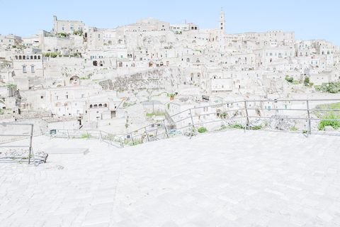 Matera photographed by Federico Scarchilli