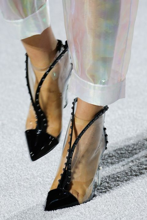 Footwear, High heels, Leg, Shoe, Fashion, Ankle, Sandal, Knee-high boot, Boot, Haute couture,