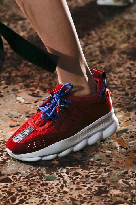 Footwear, Shoe, White, Red, Blue, Sneakers, Carmine, Outdoor shoe, Walking shoe, Skate shoe,
