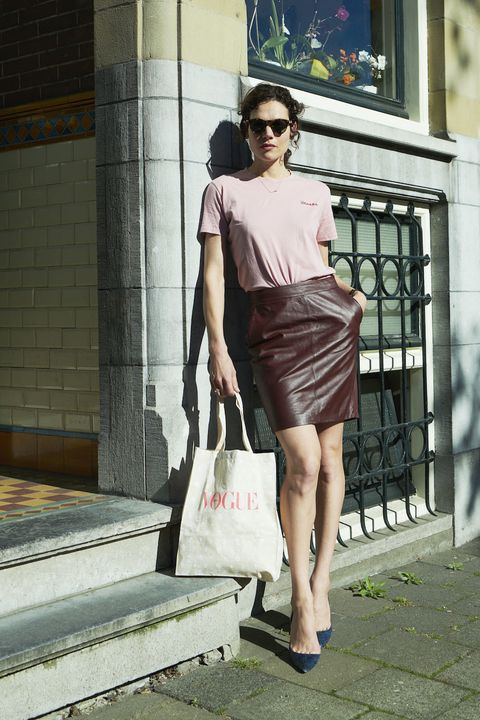 Fashion model, Clothing, Photograph, Shoulder, Fashion, Street fashion, Waist, Leg, Snapshot, Brown,