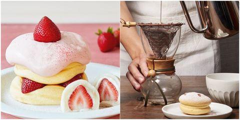 Food, Dish, Cuisine, Dessert, Breakfast, Ingredient, Strawberries, Strawberry, Macaroon, Recipe,