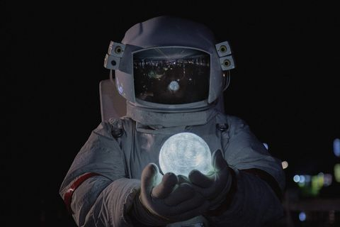 Astronaut, Helmet, Personal protective equipment, Space,