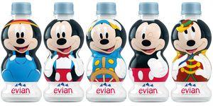 evian®,米奇90週年,聯名限定瓶,evian,米老鼠