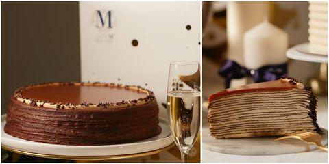 Lady M,快閃,板橋大遠百,獨家口味,海鹽焦糖千層,千層,蛋糕