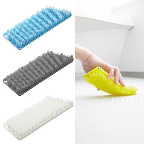 Floor, Hand, Cleaner, Household supply, Household cleaning supply, Flooring, Sponge, Plastic,
