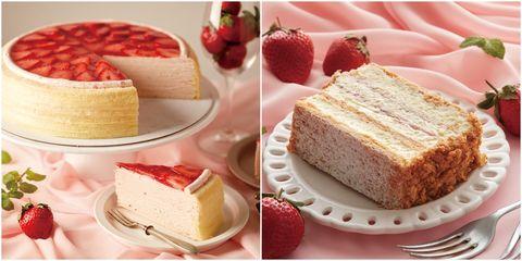 Dish, Food, Cuisine, Semifreddo, Dessert, Ingredient, Frozen dessert, Cheesecake, Baked goods, Bavarian cream,