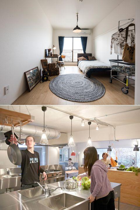 Room, Interior design, Countertop, Furniture, Ceiling, Building, Kitchen, Design, Home, Architecture,
