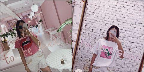 Pink, Dress, Plant,