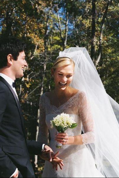 「ディオール」で嫁いだセレブたち