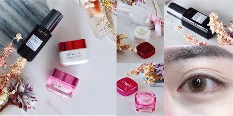 Product, Pink, Beauty, Eyebrow, Cosmetics, Lip, Material property, Nail, Gloss, Nail polish,