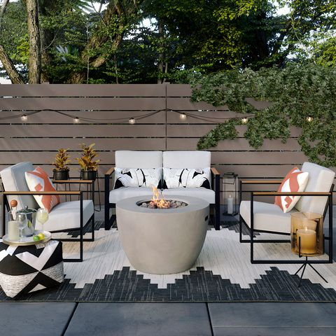 Home, Backyard, Yard, Table, Patio, Interior design, Furniture, Room, Garden, House,