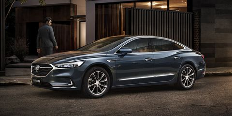 Buick LaCrosse Facelifted for China, Is Still Dead in America