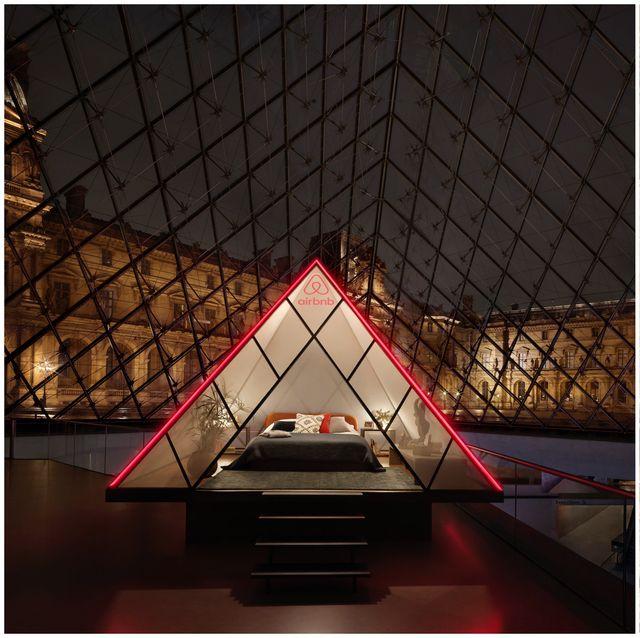 Airbnb羅浮宮