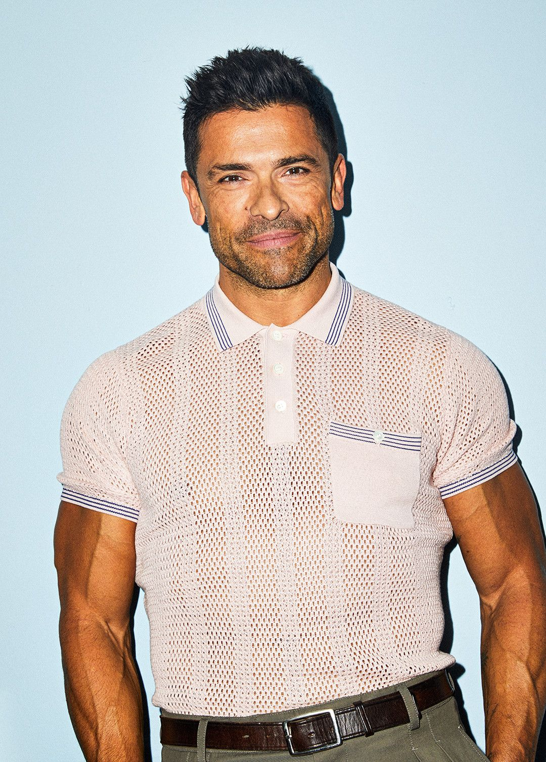 Mark Consuelos Is a Daddy and He Knows It