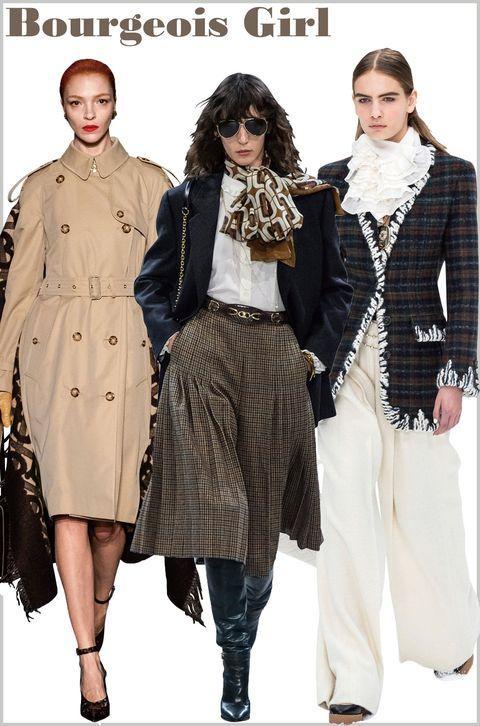 Clothing, Fashion model, Fashion, Coat, Outerwear, Overcoat, Trench coat, Fashion design, Waist, Fashion show,