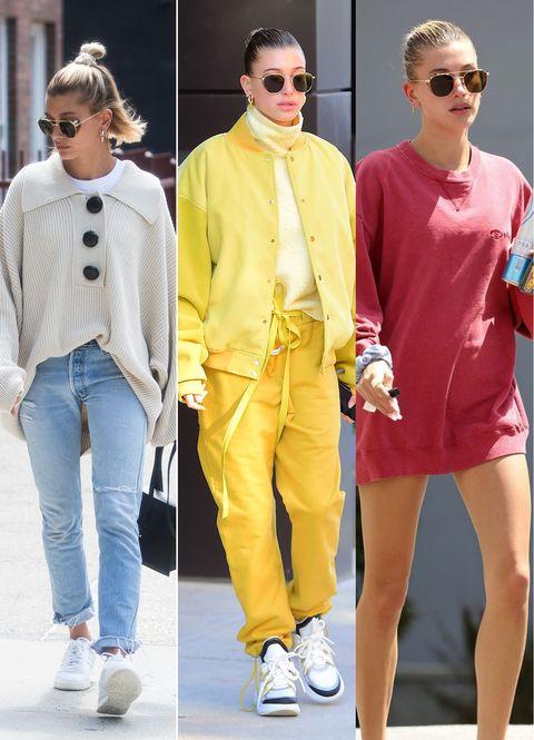 Eyewear, Fashion model, Clothing, Fashion, Yellow, Street fashion, Sunglasses, Footwear, Fashion design, Fashion show,