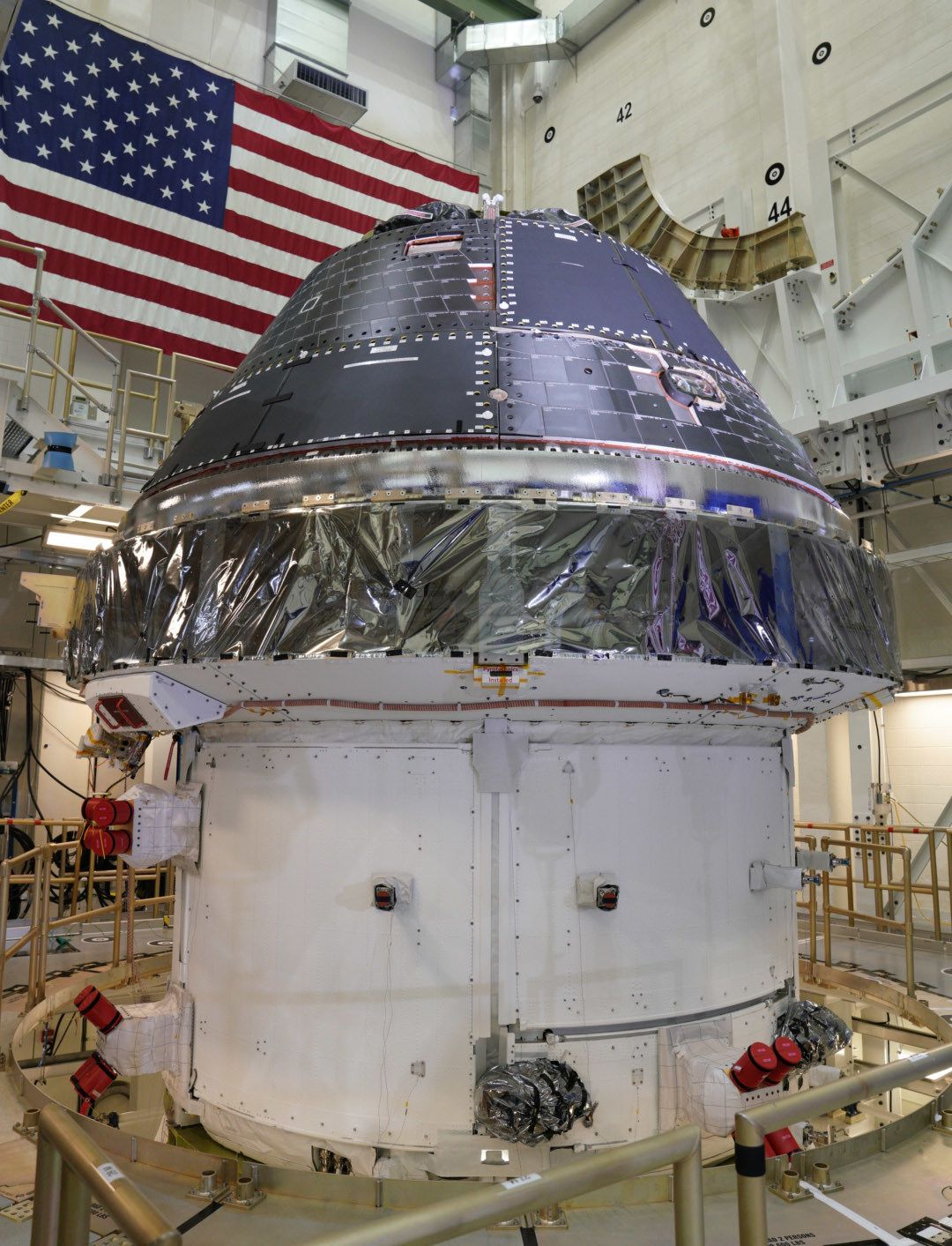 NASA Finally Completes the Orion Crew Capsule