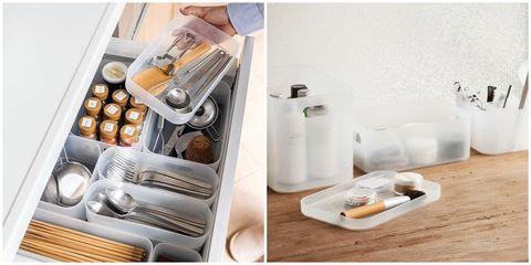 Kitchen, Furniture, Food, Sink, Kitchen utensil, Tableware, Cuisine, Drawer,