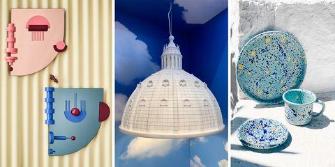 Blue, Ornament, Illustration, Art, World, Ceramic, Interior design,