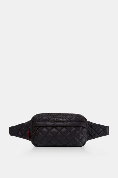 women's ski wear - mz wallace quilted belt bag