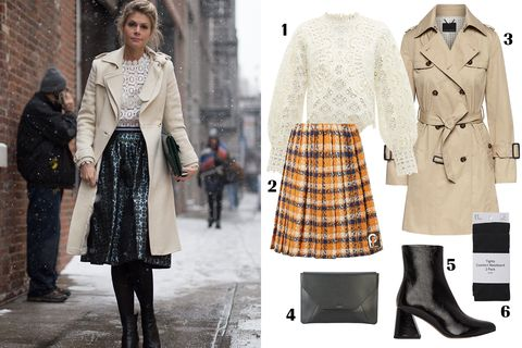 Clothing, Overcoat, Coat, Fashion, Street fashion, Outerwear, Footwear, Tartan, Trench coat, Design,