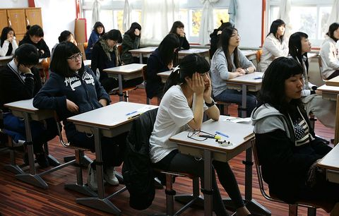 Students Face Crucial Exams For University