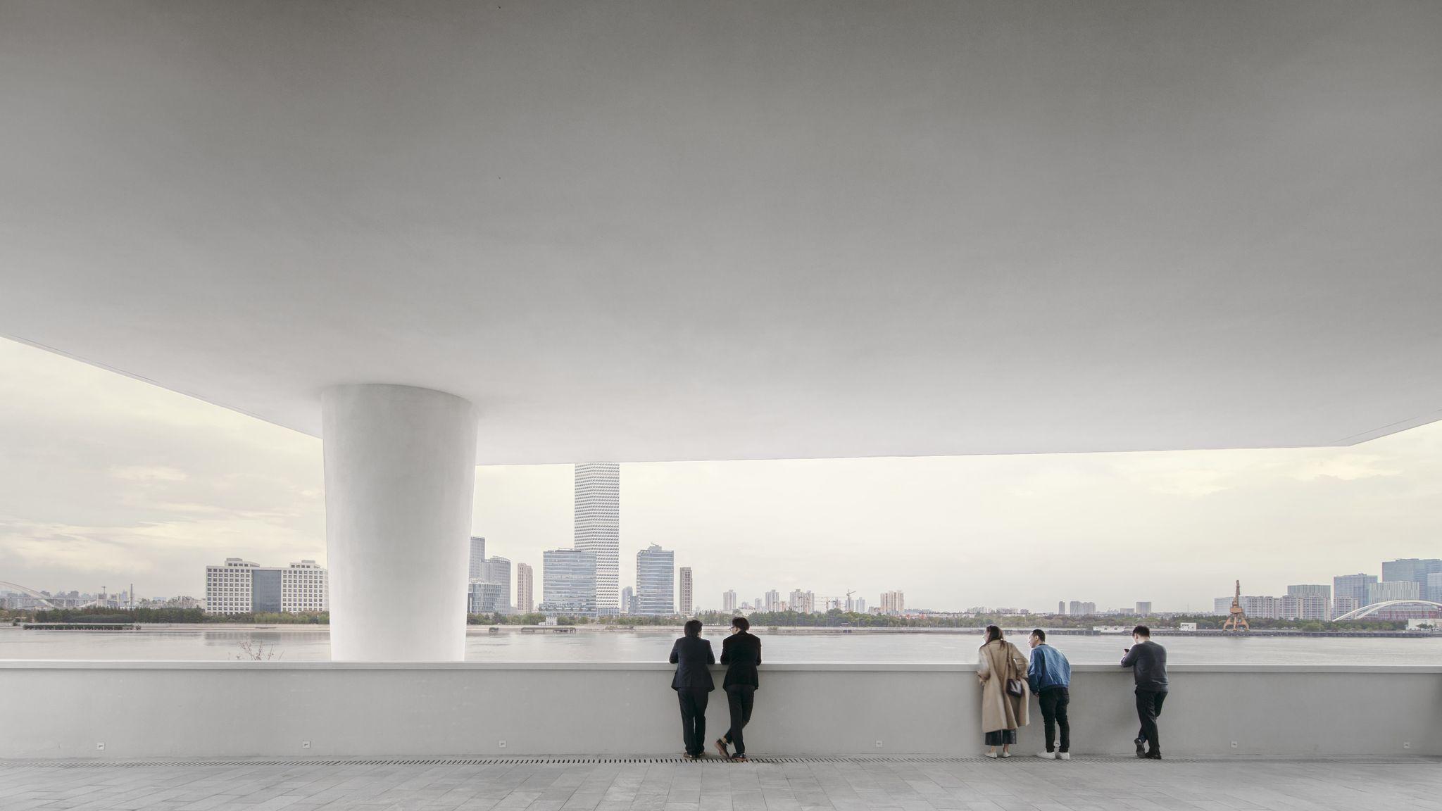 Da Parigi a Shanghai, il Centre Pompidou approda in Cina. Su un fiume