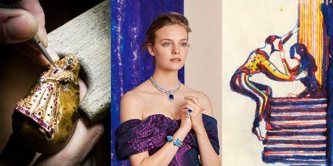 Beauty, Purple, Fashion, Photography, Fashion accessory, Jewellery, Photo shoot, Python, Style,
