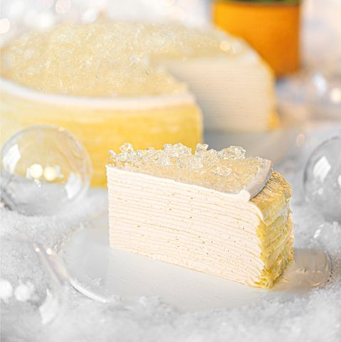 Lady M遠百信義A13店推出香檳千層蛋糕