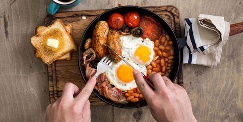 フル・イングリッシュ・ブレックファスト|タンパク質を多く摂取できる8つの朝食メニュー