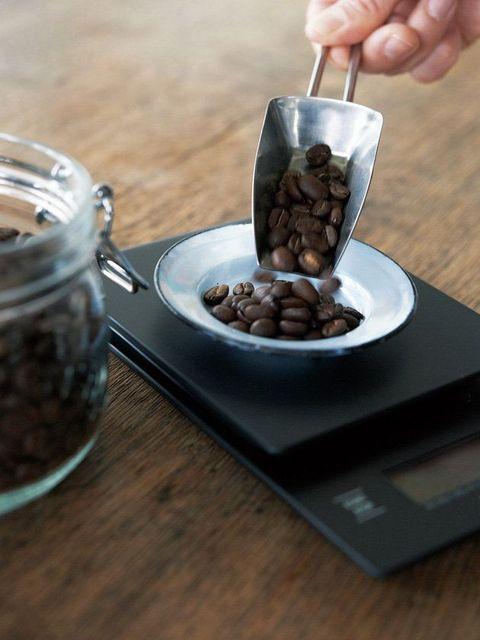 STEP1.豆を正確に測る|豆から挽く、おいしいコーヒーの淹れ方