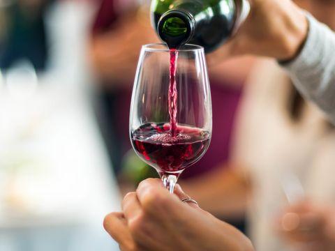 |赤ワインの健康効果5つ