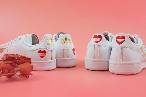 愛迪達 ADIDAS STAN SMITH / CONTINENTAL 80 | 情人節系列球鞋